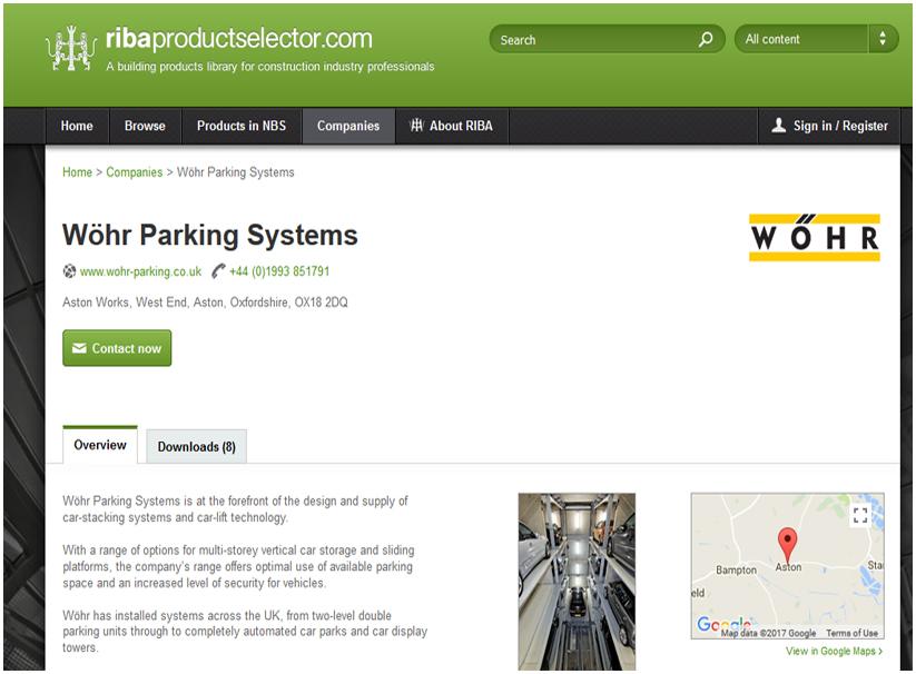 Wohr Parking Systems UK